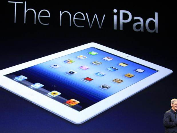 ppt of the new iPad