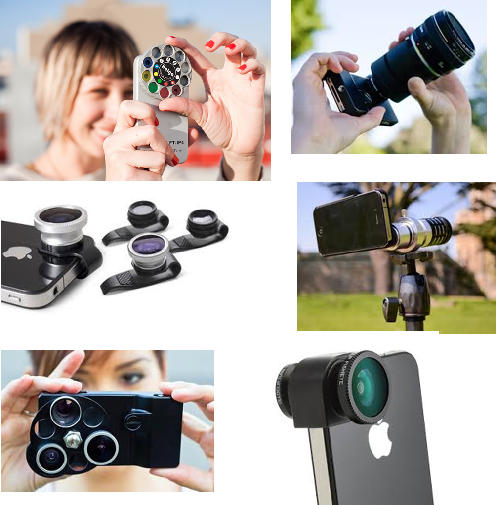 different types of iPhone Camera Lens