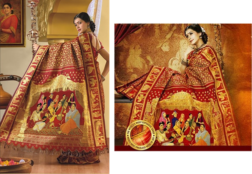 The most expensive saree in the world