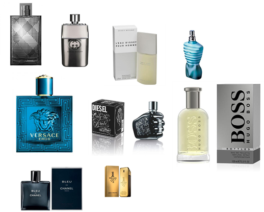 The top 10 fragrances for men in images