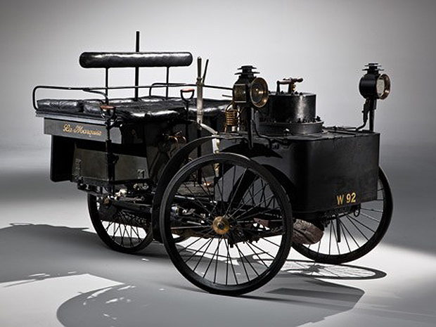 image of the Worl's oldest car