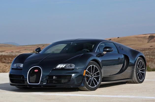 image of the Buggati Veyron SS