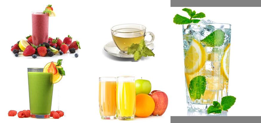 tea, smoothies and chai
