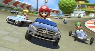 Mercedes-Benz cars for Mario Kart 8