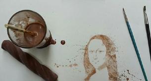 Making art with…ice cream?